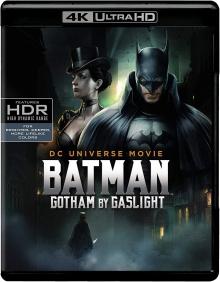 Batman : Gotham by Gaslight (2018) de Sam Liu - Packshot Blu-ray 4K Ultra HD