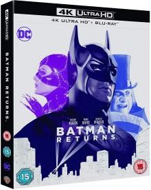 Batman, le défi (1992) de Tim Burton - Packshot Blu-ray 4K Ultra HD