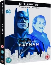 Batman (1989) de Tim Burton - Packshot Blu-ray 4K Ultra HD