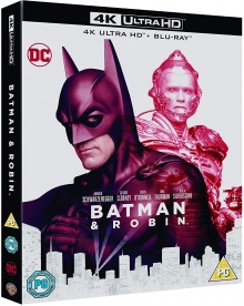 Batman & Robin (1997) de Joel Schumacher - Packshot Blu-ray 4K Ultra HD