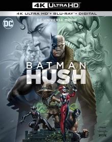 Batman : Silence (2019) de Justin Copeland - Packshot Blu-ray 4K Ultra HD