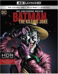 Batman : The Killing Joke (2016) de Sam Liu - Packshot Blu-ray 4K Ultra HD