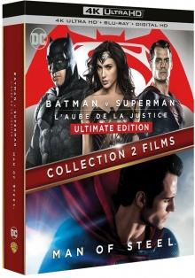 Batman v Superman + Man of Steel - Packshot Blu-ray 4K Ultra HD