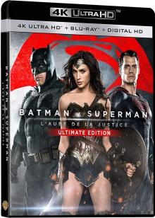 Batman v Superman: Dawn of Justice (2016) de Zack Snyder - Ultimate Edition - Packshot Blu-ray 4K Ultra HD