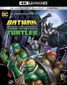 Batman vs Teenage Mutant Ninja Turtles (2019) de Jake Castorena - Packshot Blu-ray 4K Ultra HD