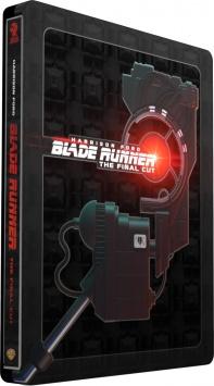 Blade Runner (1982) de Ridley Scott - The Final Cut - Steelbook - Packshot Blu-ray 4K Ultra HD