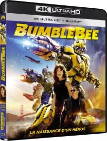 Bumblebee (2018) de Travis Knight - Packshot Blu-ray 4K Ultra HD