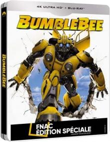 Bumblebee - Steelbook Édition Spéciale Fnac (2018) de Travis Knight - Packshot Blu-ray 4K Ultra HD