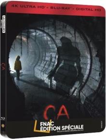 Ça (2017) de Andy Muschietti - Édition spéciale Fnac Steelbook - Packshot Blu-ray 4K Ultra HD