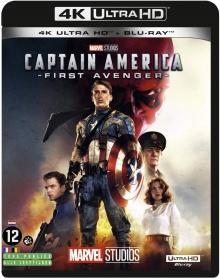 Captain America : First Avenger (2011) de Joe Johnston - Packshot Blu-ray 4K Ultra HD