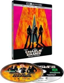 Charlie et ses drôles de dames (2000) de McG - Steelbook Exclusivité Fnac - Packshot Blu-ray 4K Ultra HD