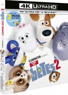 Comme des bêtes 2 (2019) de Chris Renaud & Jonathan del Val – Packshot Blu-ray 4K Ultra HD