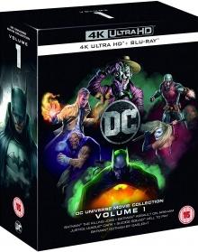 DC Universe Movie Collection Volume 1 : Batman: The Killing Joke + Batman : Assaut sur Arkham + Justice League Dark + Suicide Squad : Le Prix de l'Enfer + Batman : Gotham by Gaslight - Packshot Blu-ray 4K Ultra HD