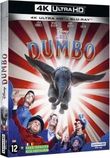 Dumbo (2019) de Tim Burton - Packshot Blu-ray 4K Ultra HD