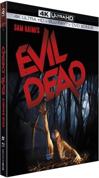 Evil Dead (1981) de Sam Raimi – Packshot Blu-ray 4K Ultra HD