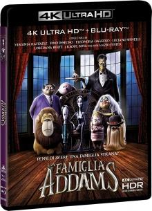 La Famille Addams (2019) de Greg Tiernan et Conrad Vernon - Packshot Blu-ray 4K Ultra HD