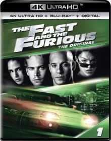 Fast And Furious (2001) de Rob Cohen - Packshot Blu-ray 4K Ultra HD