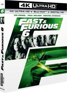 Fast & Furious 6 (2013) de Justin Lin - Packshot Blu-ray 4K Ultra HD