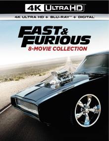 Fast & Furious : Coffret 8 Films - Packshot Blu-ray 4K Ultra HD