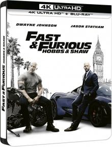Fast & Furious : Hobbs & Shaw (2019) de David Leitch – Packshot Blu-ray 4K Ultra HD