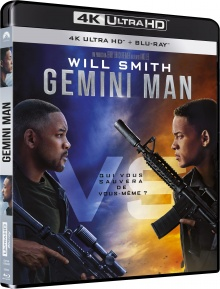 Gemini Man (2019) de Ang Lee – Packshot Blu-ray 4K Ultra HD