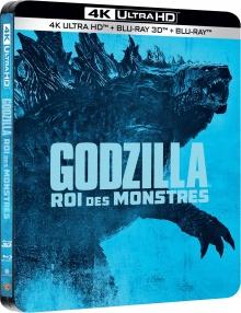 Godzilla II : Roi des Monstres (2019) de Michael Dougherty - Édition Limitée SteelBook - Packshot Blu-ray 4K Ultra HD