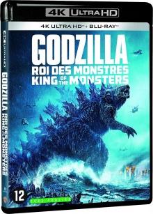 Godzilla II : Roi des Monstres (2019) de Michael Dougherty - Packshot Blu-ray 4K Ultra HD
