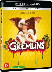 Gremlins (1984) de Joe Dante - Packshot Blu-ray 4K Ultra HD