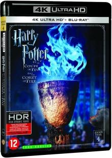 Harry Potter et la Coupe de Feu (2006) de Mike Newell - Packshot Blu-ray 4K Ultra HD
