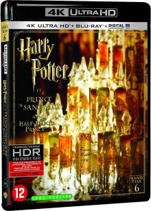 Harry Potter et le Prince de Sang-Mêlé (2009) de David Yates - Packshot Blu-ray 4K Ultra HD