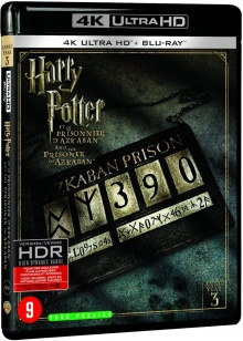 Harry Potter et le prisonnier d'Azkaban (2004) de Alfonso Cuarón - Packshot Blu-ray 4K Ultra HD