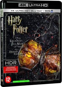 Harry Potter et les Reliques de la Mort - 1ère partie (2010) de David Yates - Packshot Blu-ray 4K Ultra HD