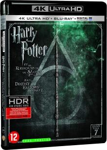 Harry Potter et les Reliques de la Mort - 2ème partie (2011) de David Yates - Packshot Blu-ray 4K Ultra HD