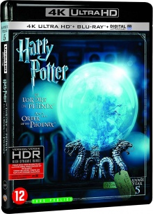 Harry Potter et l'Ordre du Phénix (2007) de David Yates - Packshot Blu-ray 4K Ultra HD