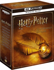 Harry Potter : Intégrale 8 Films - Packshot Blu-ray 4K Ultra HD