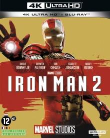 Iron Man 2 (2010) de Jon Favreau - Packshot Blu-ray 4K Ultra HD