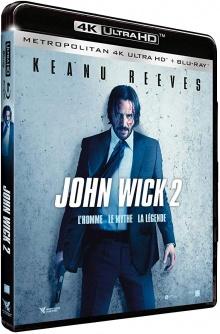 John Wick 2 (2017) de Chad Stahelski - Packshot Blu-ray 4K Ultra HD