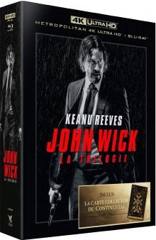 John Wick - La Trilogie - Packshot Blu-ray 4K Ultra HD
