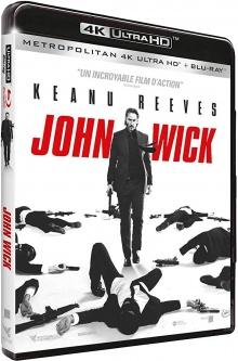 John Wick (2014) de Chad Stahelski - Packshot Blu-ray 4K Ultra HD