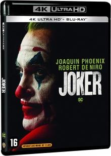 Joker (2019) de Todd Phillips – Packshot Blu-ray 4K Ultra HD