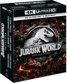 Jurassic World Collection - Packshot Blu-ray 4K Ultra HD