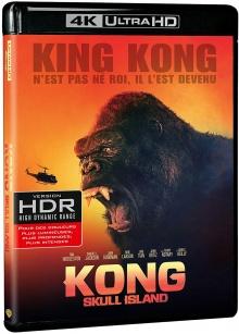 Kong : Skull Island (2017) de Jordan Vogt-Roberts - Packshot Blu-ray 4K Ultra HD
