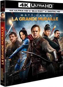 La Grande Muraille (2016) de Zhang Yimou - Packshot Blu-ray 4K Ultra HD