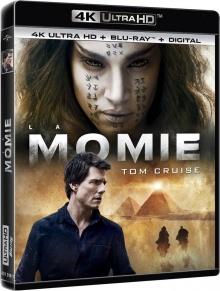 La Momie (2017) de Alex Kurtzman - Packshot Blu-ray 4K Ultra HD