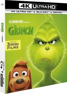 Le Grinch (2018) de Yarrow Cheney & Scott Mosier - Packshot Blu-ray 4K Ultra HD
