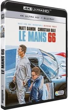 Le Mans 66 (2019) de James Mangold – Packshot Blu-ray 4K Ultra HD