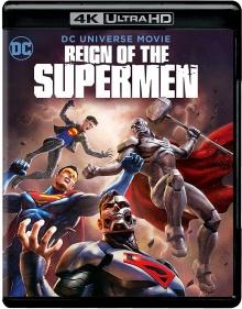 Le Règne des Supermen (2019) de Sam Liu - Packshot Blu-ray 4K Ultra HD
