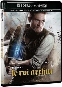 Le Roi Arthur : La Légende d'Excalibur (2017) de Guy Ritchie - Packshot Blu-ray 4K Ultra HD