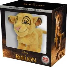 Le Roi Lion (2019) de Jon Favreau - Coffret prestige + Peluche - Packshot Blu-ray 4K Ultra HD