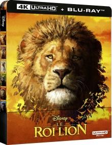 Le Roi Lion (2019) de Jon Favreau - Édition boîtier SteelBook - Packshot Blu-ray 4K Ultra HD